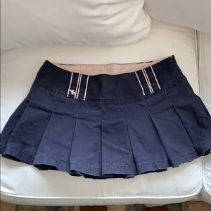 Vintage Abercrombie & Fitch pleated skirt
